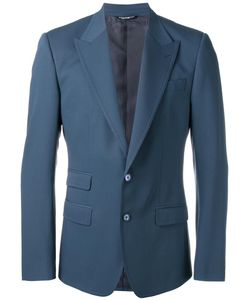 Dolce & Gabbana | Fitted Blazer 46 Silk/Polyester/Virgin Wool/Viscose