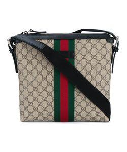 Gucci | Web Gg Messenger Bag Nylon/Cotton/Leather