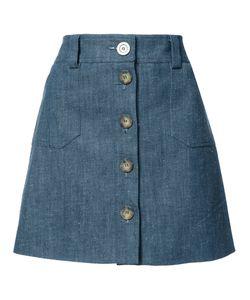 Ines De La Fressange | Short A-Line Skirt 36