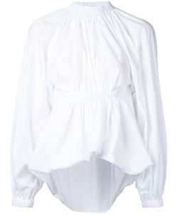 Ellery | Gathe Waist Blouse 6 Cotton