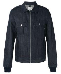 A.P.C. | Джинсовая Куртка-Рубашка На Молнии .
