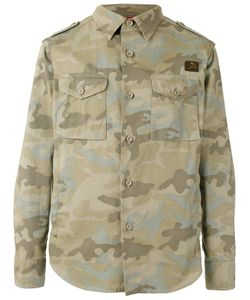 Fay | Camouflage Print Jacket Size Xl