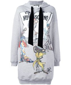 Moschino | Rat-A-Porter Hoodie Dress 36 Cotton/Silk