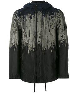 STONE ISLAND SHADOW PROJECT | Куртка С Капюшоном И Абстрактным Узором