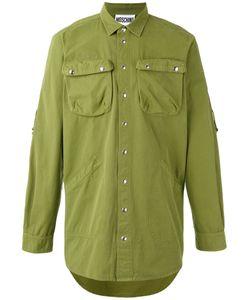 Moschino   Рубашка С Вышивкой Сзади