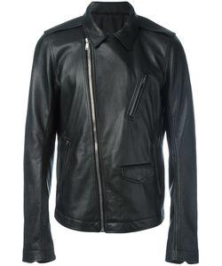 Rick Owens | Stooges Biker Jacket 50 Goat Skin/Viscose/Cotton