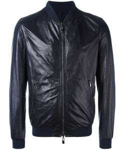 Drome | Zipped Jacket Xl Leather/Polyester/Polyamide/Spandex/Elastane