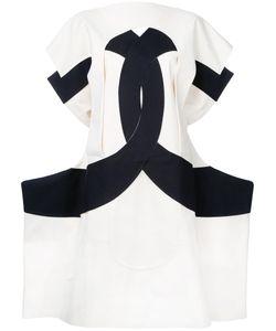 Comme Des Garcons | Платье С Резным Узором Calico Vintage