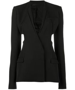 Haider Ackermann | Cutout Single Breasted Blazer Size 40 Cotton/Rayon/Virgin