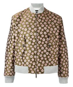 Dsquared2 | Jacquard Flower Bomber 52 Polyamide/Polyester/Cotton
