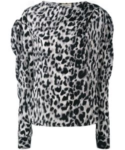 Saint Laurent | Leopard Print Top Size 40