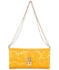 Dolce & Gabbana   Taormina Lace Clutch Satin/Cotton