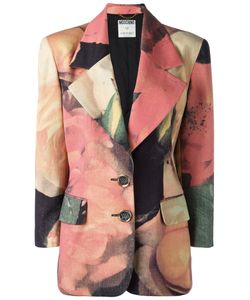 MOSCHINO VINTAGE   Print Jacket Size