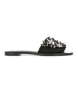 Lanvin | Crystal Strap Sandals 37.5