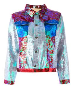 Night Market | Sequinned Boxy Jacket