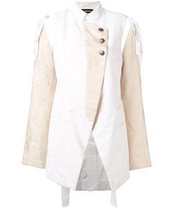 Ann Demeulemeester | Oversized Military Jacket