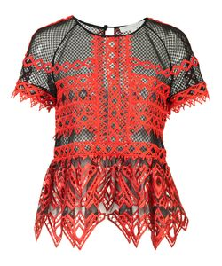 Jonathan Simkhai | Ruffled Sheer Blouse