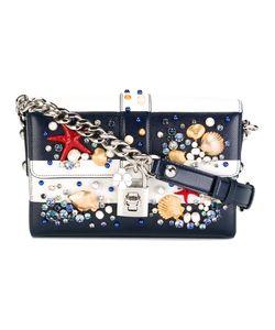 Dolce & Gabbana   Dolce Shoulder Bag Leather/Swarovski Crystal