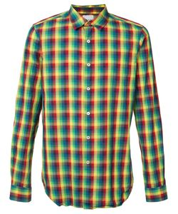 Paul Smith   Plaid Shirt Size Medium