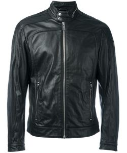 Diesel | Zipped Jacket Xl Leather/Polyester