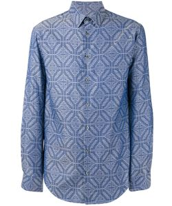 Giorgio Armani | Mixed Pattern Shirt 42 Cotton