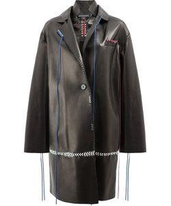 Alexander McQueen | Пальто С Декоративной Строчкой