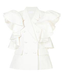 Co | Ruffle Sleeve Blouse Medium