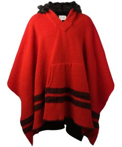GREG LAUREN | Bicolour Poncho
