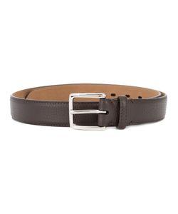 SIMEONE NAPOLI | Square Buckle Grained Belt Size 85
