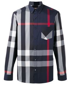 Burberry | Longsleeve Checked Shirt L