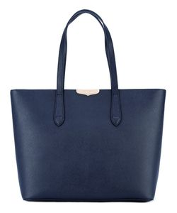 Twin-set | Logo Plaque Tote Leather