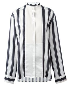 Haider Ackermann | Collarless Stripe Blouse