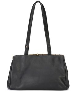 MA+   Tone Rim Shoulder Bag Calf Leather