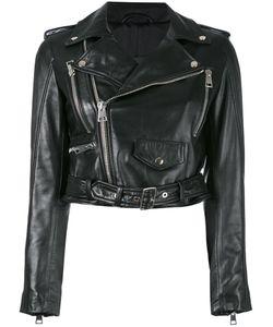 Manokhi | Zipped Biker Jacket