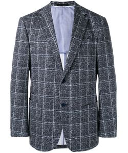 Z Zegna | Checked Two Button Jacket