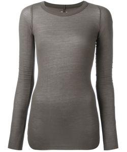 Rick Owens | Ribbed T-Shirt Size 40