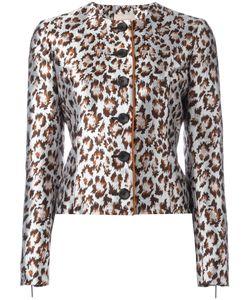 Christopher Kane | Boxy Leopard Jacket Size