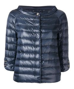 Herno | Collarless Down Jacket 38 Polyamide/Goose Down