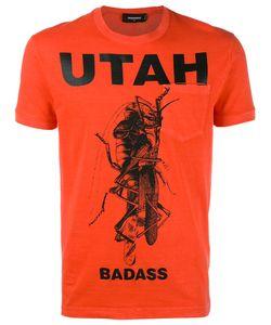 Dsquared2   Utah Mantis Pocket T-Shirt Small Cotton