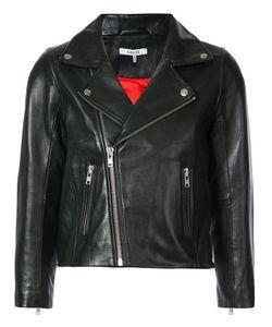 Ganni | Укороченная Байкерская Куртка