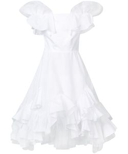Natasha Zinko | Ruffled Dress 36 Cotton/Polyester