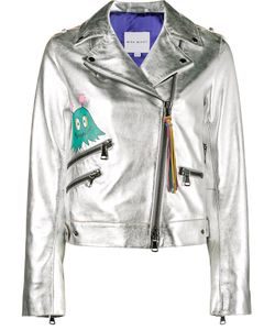 Mira Mikati | Whatever Painted Biker Jacket Women