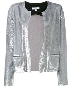 Iro | Sequinned Fitted Jacket Cotton/Lamb