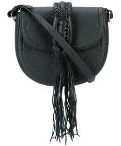 Altuzarra | Ghianda Saddle Crossbody Bag Leather/Linen/Flax