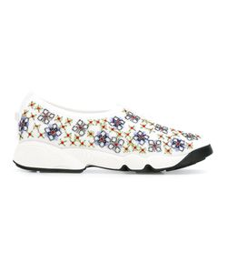 Dior | Embroidered Slip-On Sneakers Size 37