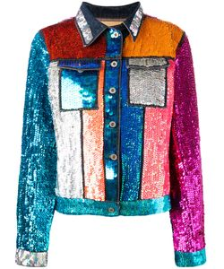 Night Market   Market Rando Sequin Jacket