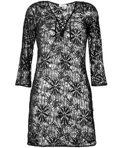 AMIR SLAMA | Lace Beach Dress G Cotton
