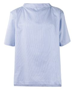 Comme Des Garcons | Comme Des Garçons Shirt Striped Shortsleeved Shirt