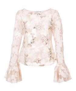 PATBO | Lace Bell Sleeve Top Women