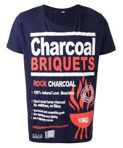 Love Moschino | Charcoal Print T-Shirt